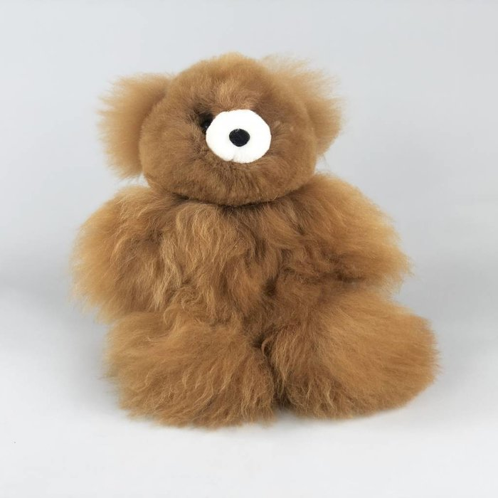 Teddy - Fluffy Toy - Brown