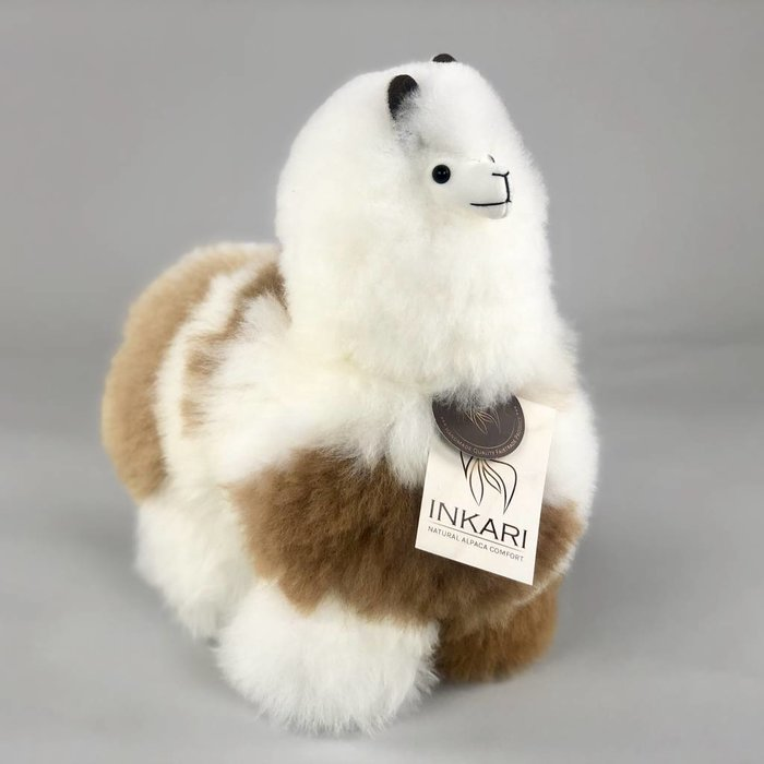 ❤ Alpaca ❤ Stuffed Animal ❤ White/Brown