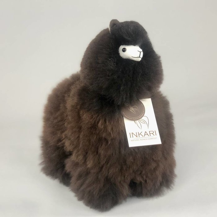 ❤ Alpaca ❤ Stuffed Animal ❤ Dark Brown /Black