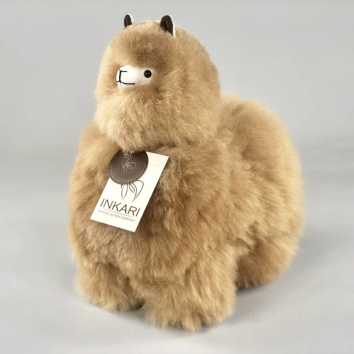 ❤ Alpaca Stuffed Animal ❤ Hazelnut ❤  Medium