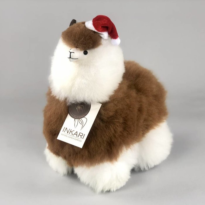 ❤ The cutest Christmas hat for your alpaca stuffed animal! ❤