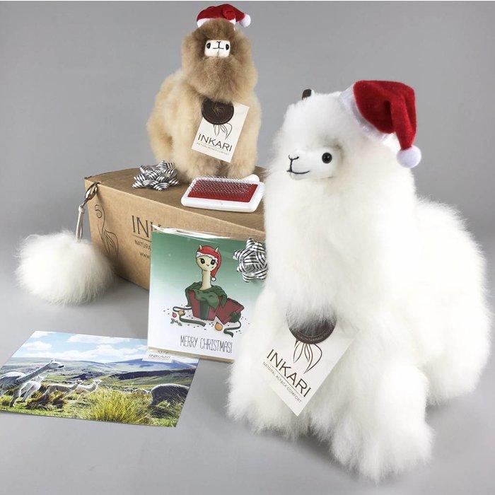 ❤ Luxe Alpaca Cadeau Set ❤ 1x  Klein + 1x Medium + Veel extra's ❤