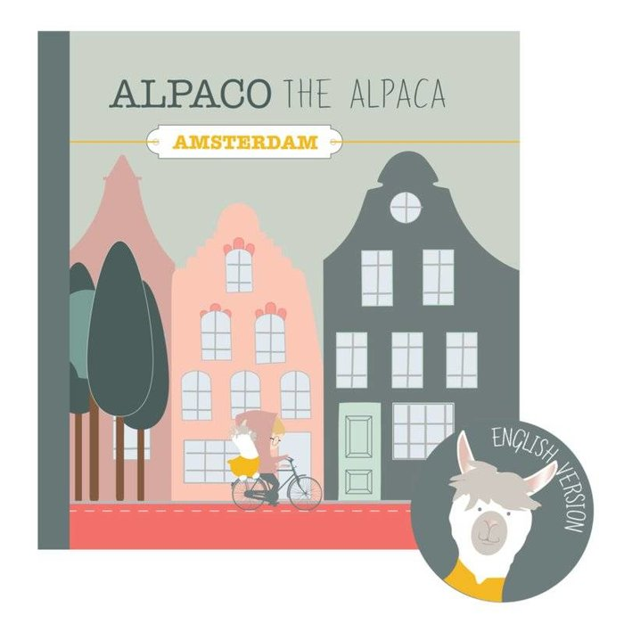 Alpaco the Alpaca - Amsterdam (in NL of ENG)