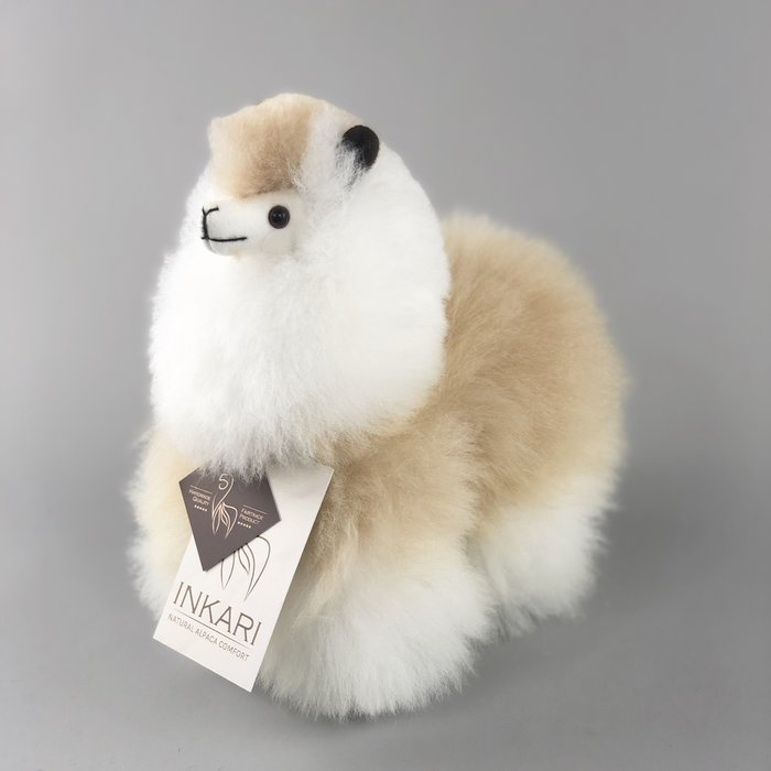 Small Alpaca ❤ Stuffed Animal ❤ Beige/Ivory