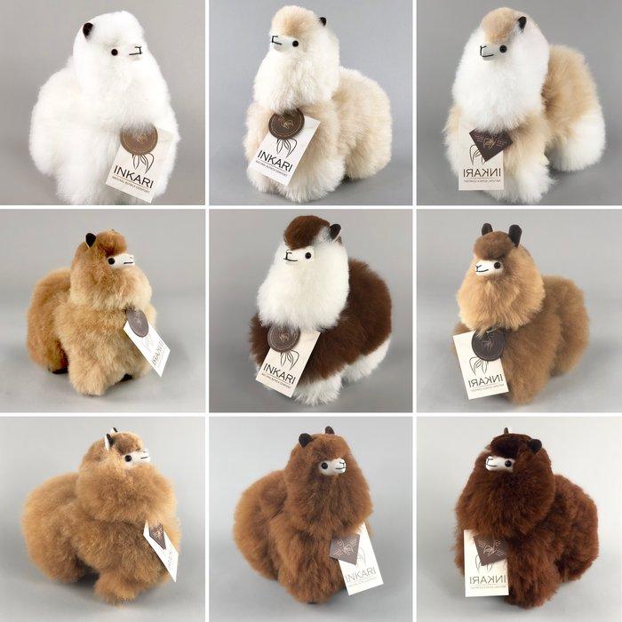 Alpaca Knuffel - Klein - Handgemaakt van Alpacawol - Hypoallergeen - Beige/Ivoor