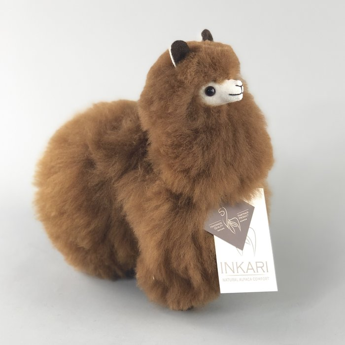 Small Alpaca ❤ Stuffed Animal ❤ Walnut