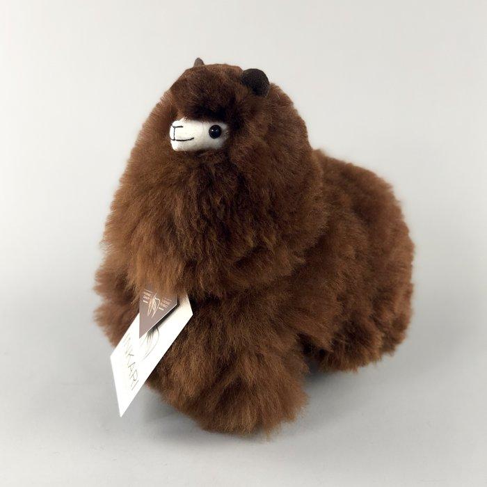 Small Alpaca ❤ Stuffed Animal ❤ Dark Brown