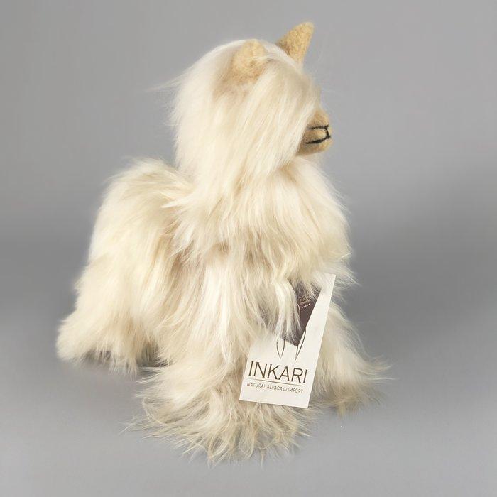 Suri Alpaca Wool Toy - Soft & Fluffy - Handmade in Peru - Hypoallergenic - Sahara