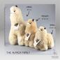 Alpaca Knuffel - Klein - Handgemaakt van Alpacawol - Hypoallergeen - Blond