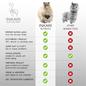 'Grote Alpaca' - Zachte Knuffel - Handgemaakt - Allergie-vrij - Sahara