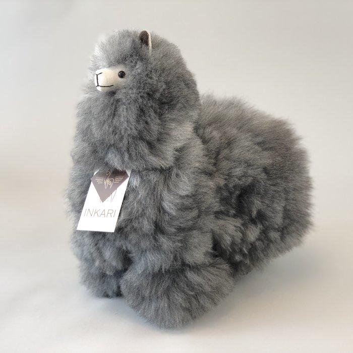 Limited Edition - Alpaca Toy ❤ 'Wolf' ❤ Soft & Fluffy ❤ Handmade in Peru ❤