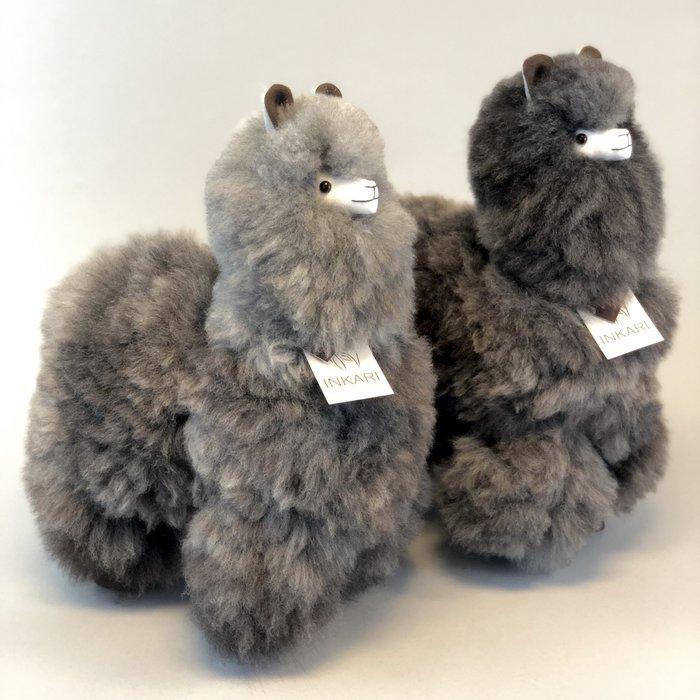 Big Alpaca Toy - Soft & Fluffy ❤ Handmade in Peru ❤ Limited Edition - 'Wolf'