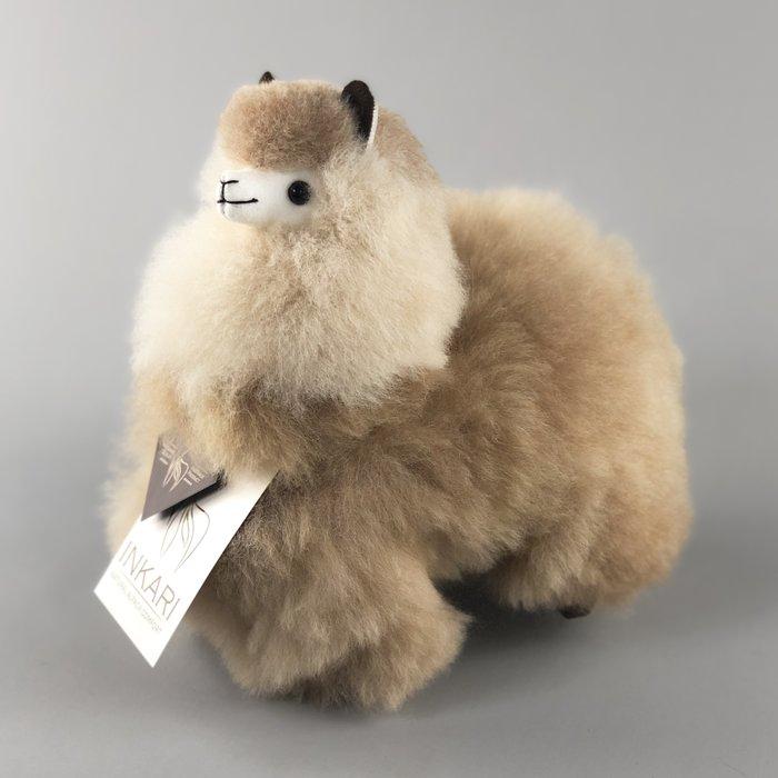 ❤ Kleine Alpaca Knuffel ❤ Sandstone