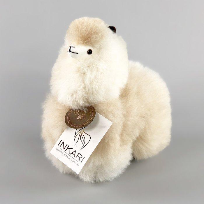 Alpaca Toy - Soft & Fluffy - Handmade in Peru - Hypoallergenic - Sahara