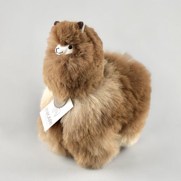 Alpaca Knuffel - Medium - Caramel
