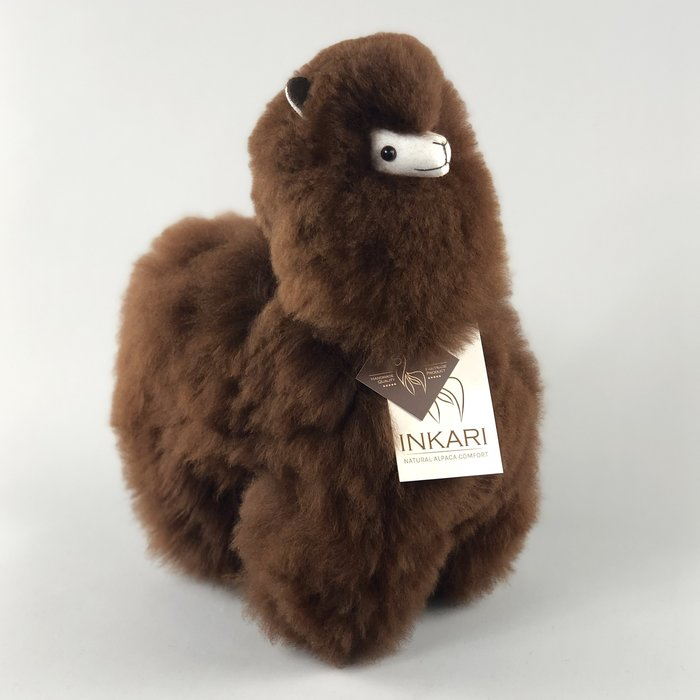 ❤ Alpaca Knuffel ❤ Chocolade