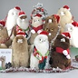 Kleine Alpaca Knuffel Kerstpakket  - Handgemaakt van Alpacawol - Limited