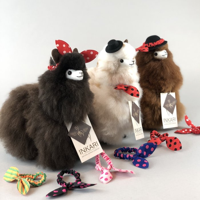 Haarstrikje - Alpaca Accessoire