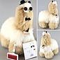 'Grote Alpaca' - Zachte Knuffel - Handgemaakt - Allergie-vrij - Blond/IVoor