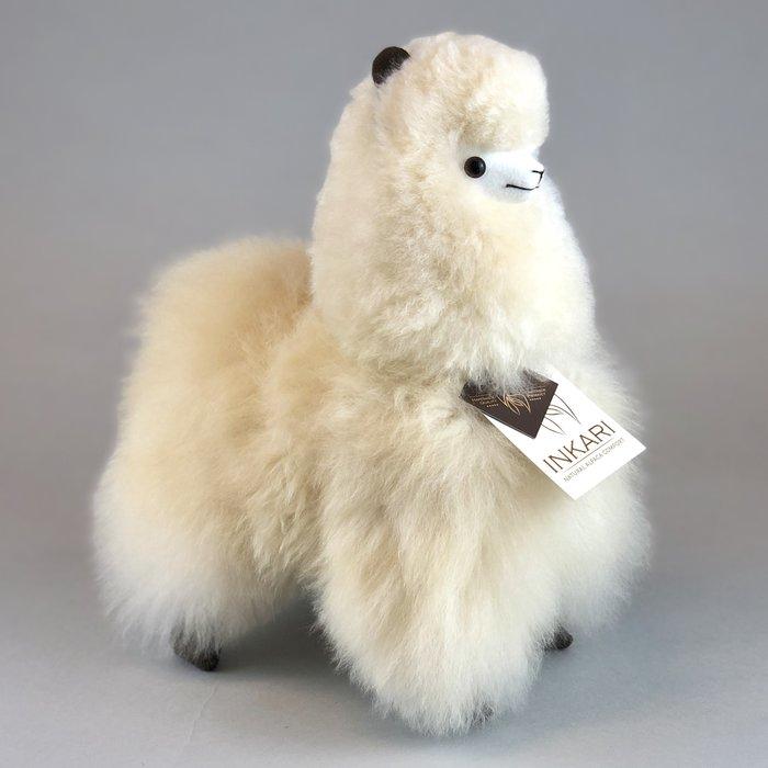 Alpaca Knuffel - Suri alpacawol - Handgemaakt van Alpacawol - Hypoallergeen - Blond