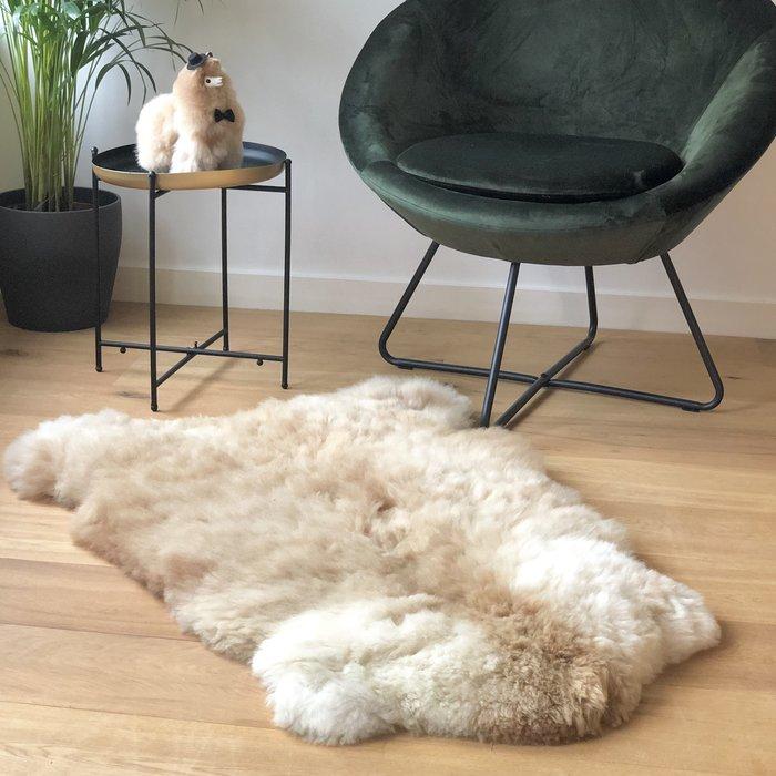 'Reina' - Handgemaakt Alpaca Kleed - Sahara