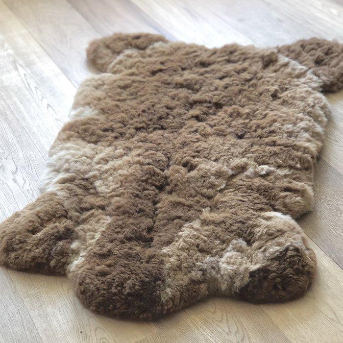 'Reina' - Handgemaakt Alpaca Kleed - Caramel