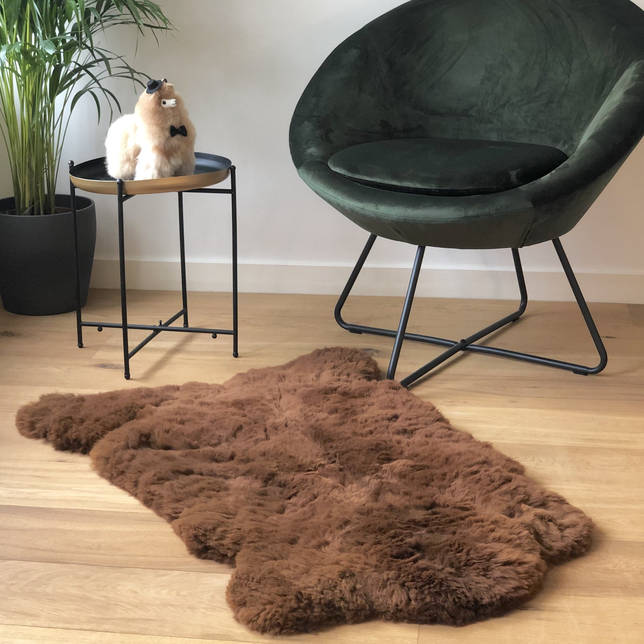 Alpaca Rug Handmade Fairtrade