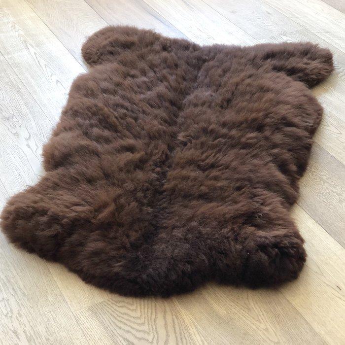 'Reina' - Handgemaakt Alpaca Kleed - Chocolate