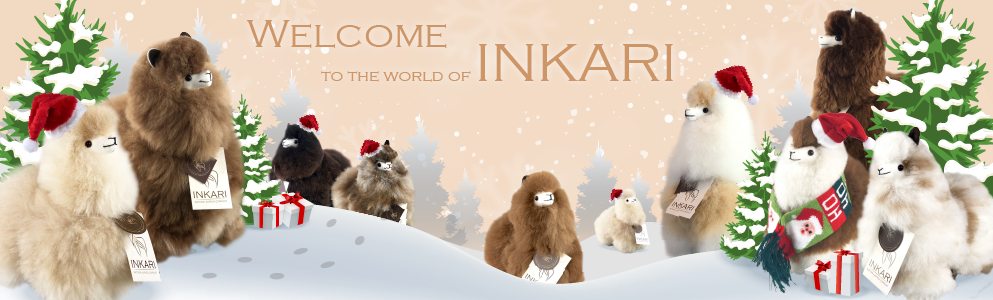 Inkari - Softest and Fluffiest Alpacas in the world! Handmade, Soft and Fair trade.