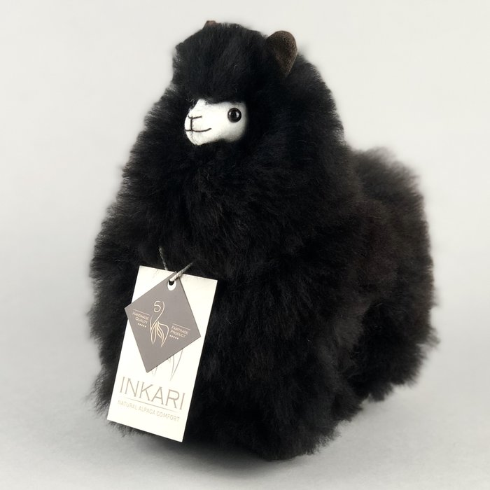 ❤ Kleine Alpaca Knuffel ❤ Limited Edition ❤ ''Zwarte Panter'