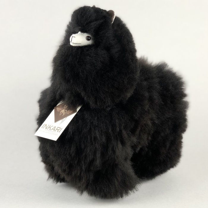 ❤ Alpaca Knuffel ❤ Limited Edition ❤ ''Zwarte Panter'