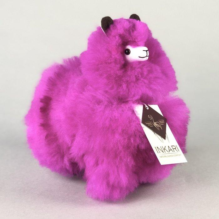Small Alpaca ❤ Stuffed Animal ❤ Magenta - Limited