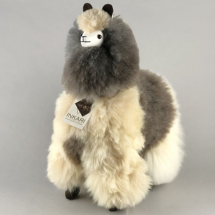 ❤ Grote Alpaca ❤ Limited Edition ❤ Grey / Blond