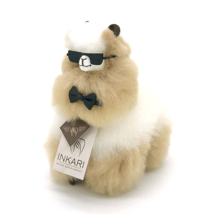 Small Alpaca ❤ Stuffed Animal ❤ Ivory/Blond