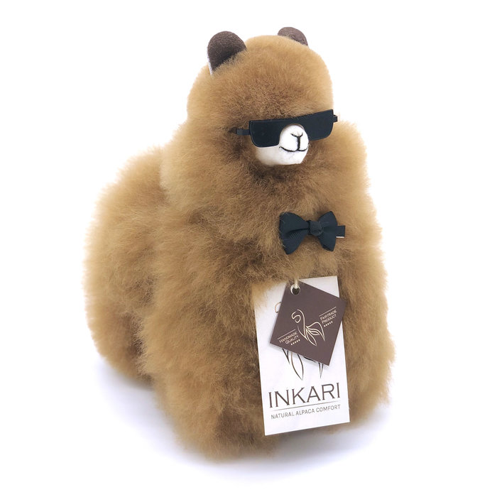 Small Alpaca ❤ Stuffed Animal ❤ Hazelnut