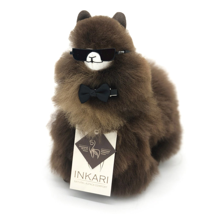 ❤ Kleine Alpaca Knuffel ❤ Choco Cream