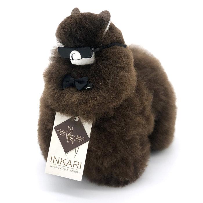 Small Alpaca ❤ Stuffed Animal ❤ Chocolate