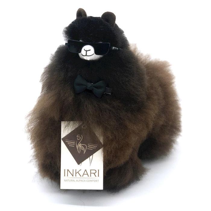 ❤ Kleine Alpaca Knuffel ❤ Cacao