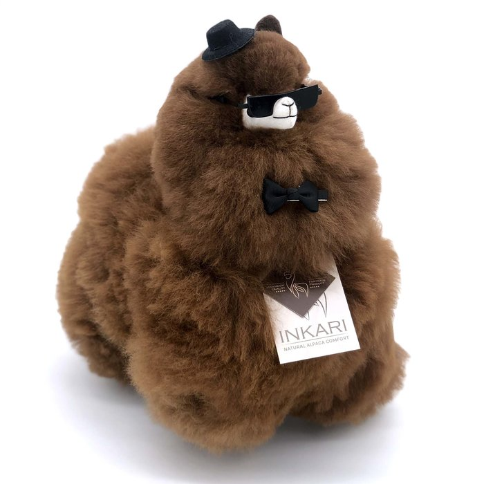 ❤ Alpaca ❤ Stuffed Animal ❤ Walnut
