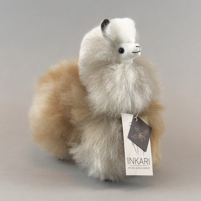 ❤ Small Alpaca ❤ Limited Edition ❤ 'Arctic Fox '