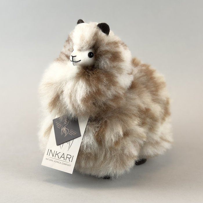 ❤ Small Alpaca ❤ Limited Edition ❤ Snow Leopard