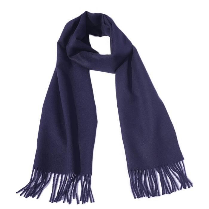 'Royale' - 100% Premium Alpaca Scarf - Navy Blue