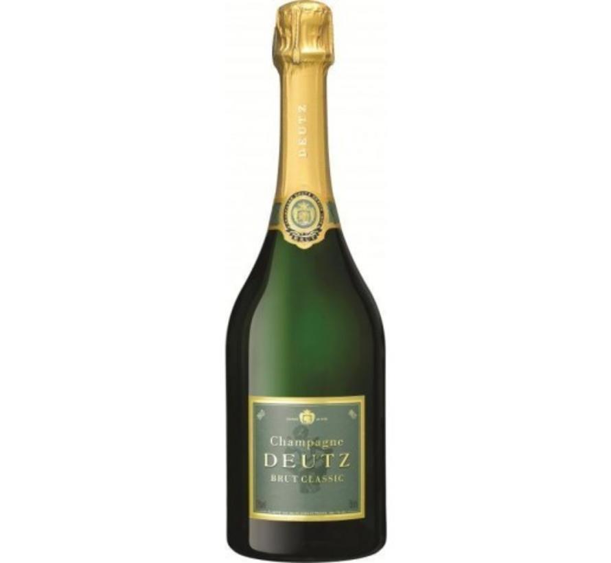 Deutz Champagne Brut Classic - in giftbox  met 2 glazen