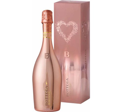 Bottega Bottega Gold Rosé (75 cl) - in luxe Giftback