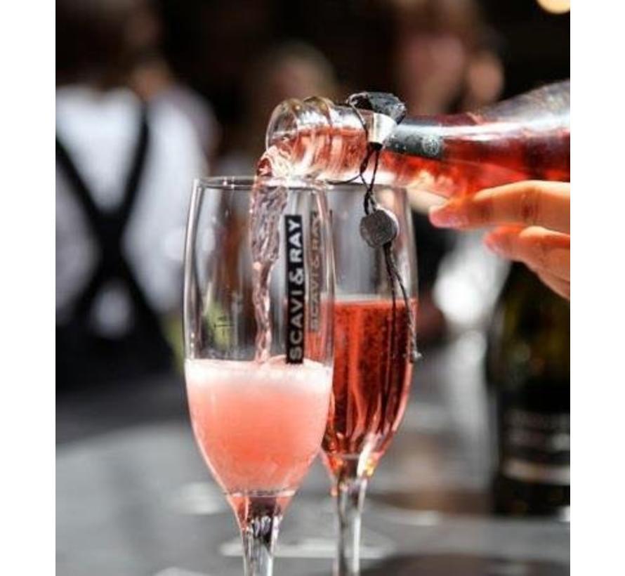Scavi & Ray Frizzante Rosato - Piccolo - Minimale afname tijdelijk 120 flessen