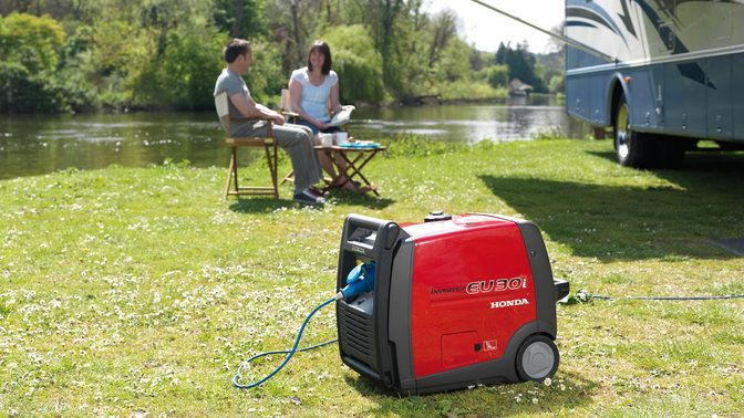 Soundproof Generators 230V / Gasoline