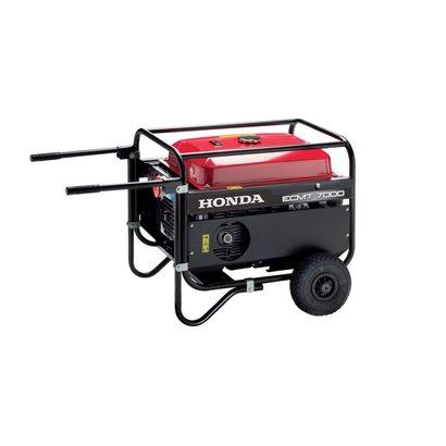 Honda ECMT 7000 Benzine Aggregaat met transportwielen