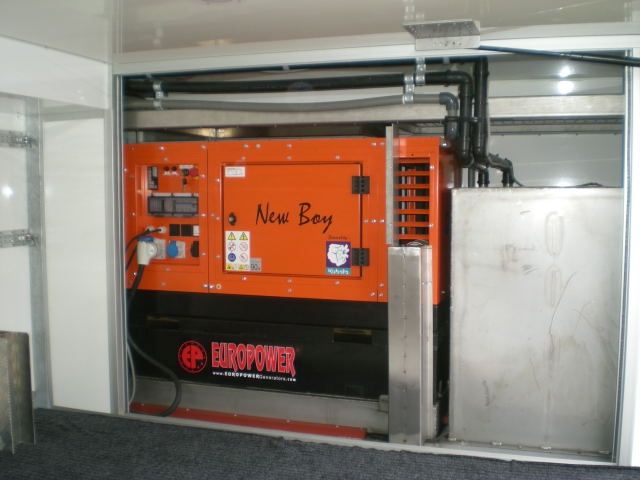 Super leise Stromerzeuger 400V / Diesel