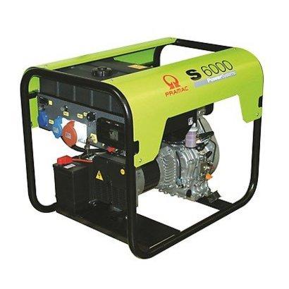 Pramac S6000 Stromerzeuger S6000 Diesel-Generator E-Start 230/400V - 3,2 / 6,9 kVA