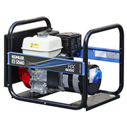 Kohler SDMO HX 6000 - 79 kg - 6000 W - 68 dB - Generator